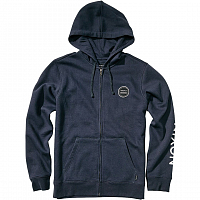 Nixon OXFORD FULL ZIP HOODIE MIDNIGHT NAVY
