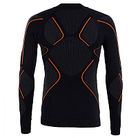 BodyDry MAKALU LONG SLEEVE SHIRT BLACK/RED