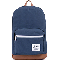 Herschel Pop Quiz Navy/Tan Synthetic Leather