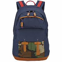 Nixon CANYON BACKPACK NAVY / WOODLAND CAMO