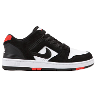 Nike SB AIR FORCE II LOW BLACK/BLACK-WHITE-HABANERO RED