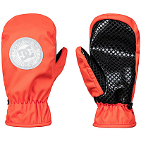 DC SHELTER MITT  M MTTN Red Orange