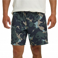 Burton MB CREEKSIDE SHORT SLATE POP FLORAL