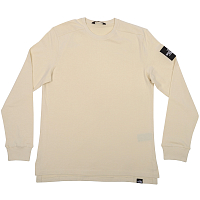 The North Face M L/S FINE 2 TEE VINTAGE WHITE (11P)