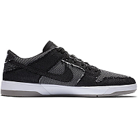 Nike SB ZOOM DUNK LOW ELITE QS BLACK/BLACK-WHITE-MEDIUM GREY