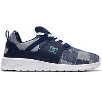 DC HEATHROW TX LE J SHOE BLUE/BLUE/WHITE