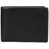 Rusty GROUND LEATHER WALLET blk
