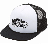 Vans MN CLASSIC PATCH TRUCKER WHITE-BLACK