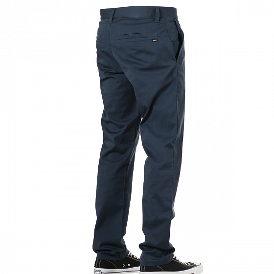 Брюки RVCA WEEKEND STRETCH PANT A/S от RVCA в интернет магазине www.traektoria.ru - 4 фото
