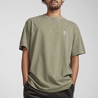 Billabong SNAKE ON A PALM TEE MILITARY