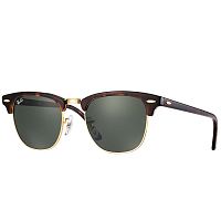 Ray Ban CLUBMASTER MOCK TORTOISE/ ARISTA/GREEN