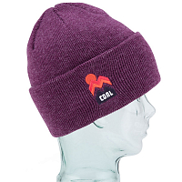 Coal THE DONNER BEANIE Heather Plum