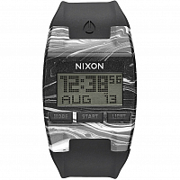 Nixon COMP MARBLED BLACK/WHITE