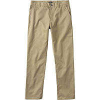 RVCA WEEKEND STRETCH PANT KHAKI