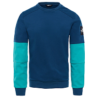 The North Face M FINE CREW SWEAT BLU WING/ (2RY)
