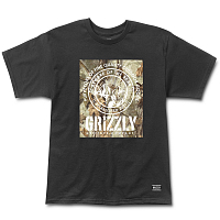 Grizzly TERRIAN S/S TEE BLACK