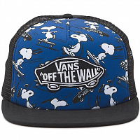 Vans MN CLASSIC PATCH TRUCKER PLUS TRUE NAVY