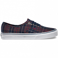 Vans Authentic (Plaid) dress blues