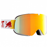 Spect RED BULL TRANXFORMER WHITE/RED SNOW - ORANGE WITH RED MIRROR