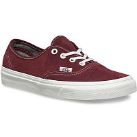 Vans Authentic (Varsity Suede) red mahogany