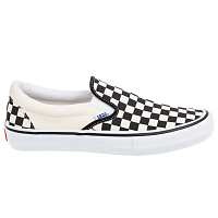 Vans MN SLIP-ON PRO (CHECKERBOARD) BLACK/WHITE
