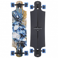 Landyachtz MAPLE DROP HAMMER BLUE JAY COMPLETE one size