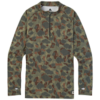 Burton MB EXP 1/4 ZIP FOREST DUCK