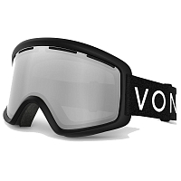 VonZipper BEEFY Black Satin / Grey Chrome