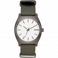 Nixon Time Teller Gunmetal/Silver/Surplus