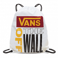Vans LEAGUE BENCH BAG WHITE-RHUMBA RED