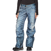 686 WMS DECONSTRUCTD DENIM INS PNT INDIGO DENIM SUBLIMATION