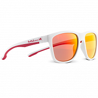 Spect RED BULL BUBBLE MATT WHITE FRONT - MATT WHITE/MATT RED RUBBER