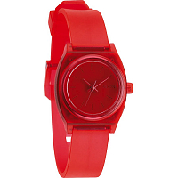 Nixon Small Time Teller P TRANSLUCENT CORAL