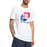 DC NOSED UP SS M TEES SNOW WHITE