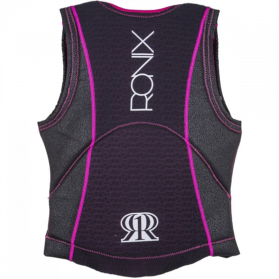 Жилет водный RONIX CORAL WOMEN'S - ATHLETIC CUT IMPACT JACKET SS17 от Ronix в интернет магазине www.traektoria.ru - 2 фото