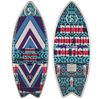 Ronix WOMEN'S KOAL W/ TECHNORA - FISH BLUE / PURPLE / PINK