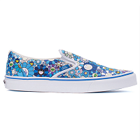 Vans CLASSIC SLIP-ON LX (Flower) blue