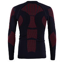 BodyDry KANGCHENJUNGA LONG SLEEVE SHIRT BLACK/RED