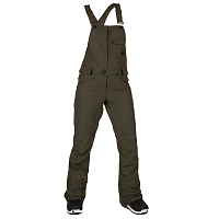 Volcom SWIFT BIB OVERALL FOREST