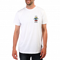 Rip Curl SEARCH LOGO S/SL UV TEE White