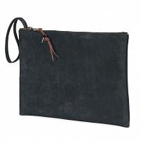 Herschel NETWORK LARGE (UPDATE) BLACK LEATHER