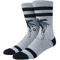 Stance FOUNDATION CHEEKY PALM GREY