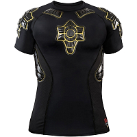 G-Form PRO-X Compression Shirt BLACK/YELLOW