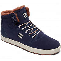 DC CRISIS HIGH WNT M SHOE NAVY/CAMEL