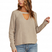 RVCA CASE SWEATER Oatmeal