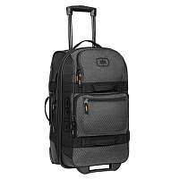 OGIO LAYOVER CARRY-ON LUGGAGE GRAPHITE