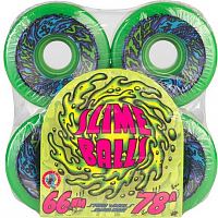 Santa Cruz Slime Ball 66s NEON GREEN
