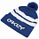 Oakley BEANIE B1B LOGO (STRIPED) DARK BLUE