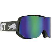 Spect RED BULL CLYDE OLIVE GREEN/GREEN SNOW, BROWN WITH GREEN MIRROR