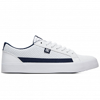 DC LYNNFIELD M SHOE WHITE/RED/BLUE